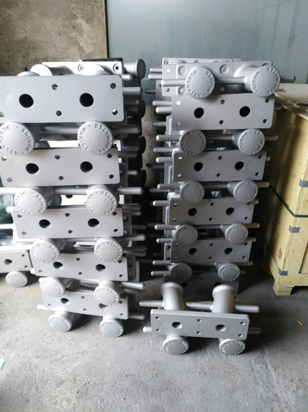 Sand casting  Aluminum ALMAG 535 Dock Cleat